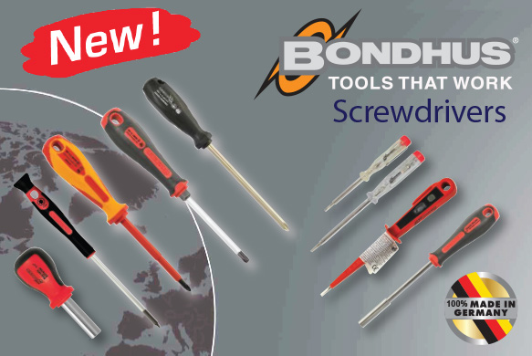 Bondhus screwdrivers - Made in Germany