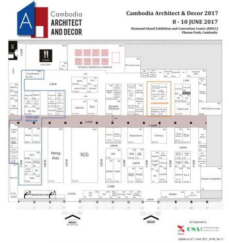 Cambodia Architect And Decor 2017