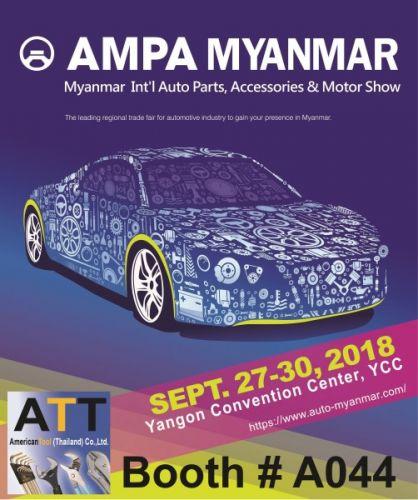 AMPA MYANMAR 27-30th September 2018