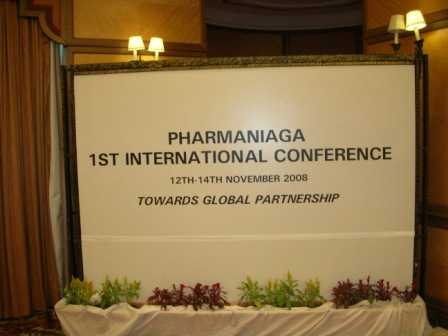 Jion with pharmaceutical international conference,cox and jsp event to support community and some for join with manufacture group.To show accept and well know in our field.We join with many country to show thai product efficiency.Thai pharmaceutical product and thai supplement food was accepted with many country.we know that Mand in thailand product is famous with sount east asia like a brand name with user can trust onr country product.