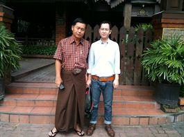 pissanu JSP COX with dr. saw hla htun medipower myanma medicine distributer