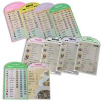 Polypropylene PP Foam Food Menu List PR224