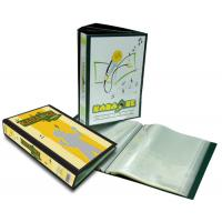Polypropylene PP display book A4 120 Pockets KM120-121