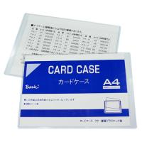Document Hard Card Case A4 BS84