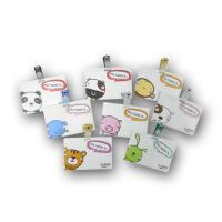 Landscape Plastic Name Badges with Clips NL500