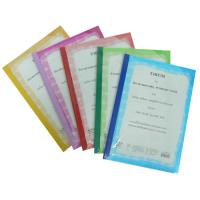 PP Report Covers with Slide Binder Bars A4 RL542