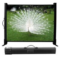 "Portable Projection Screen PROTEX 24""H x 32""W"