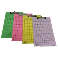 Polypropylene PP Foam Clipboard Folder F418