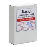 Clear Laminating Pouches BASIC 150micron 60x90mm.