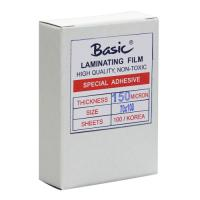Clear Laminating Pouches BASIC 150micron 70x100mm.