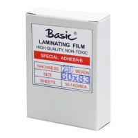 Clear Laminating Pouches BASIC 250micron 60x83mm.