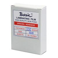 Clear Laminating Pouches BASIC 250micron 60x90mm.