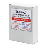 Clear Laminating Pouches BASIC 250micron 65x95mm.