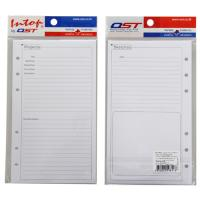 Pre Printed Sheets for Ring Binding Personal Organizer RF811