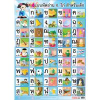 Thai Alphabet Educational Posters EP115