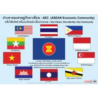 Flags of Nations that are Member of AEC Posters EP121