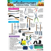 Agricultural Tools Educational Posters EP134