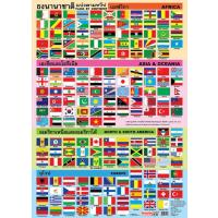 World Flags by Continents Posters EP146