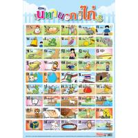 Thai Alphabet Educational Posters ES081