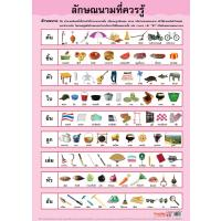 Thai Classifier Unit Educational Posters EP172