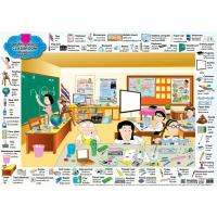 English Vocabulary 'Classroom' Educational Posters EP250