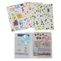 Flat File Folder with two clear pockets A4 PD755-757