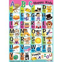 English Alphabet Educational Posters ABC Happy Kids EP279