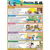5S Activities Educational Posters EP282