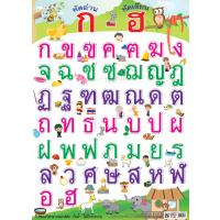 Thai Alphabet Educational Posters EP286
