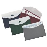 Landscape 2 pockets Plastic Envelope with Tuck Flap Closure A4 250Q