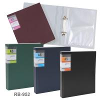 Polypropylene PP Foam Ring Binder Document Folder RB952