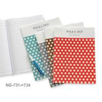 Glue Binding Notebook with PP Cover B5 NG731-4