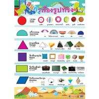 Funny Shapes Educational Paper Posters EQ196