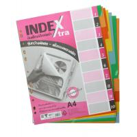 10 Tabs Plastic Index Divider A4 DX713