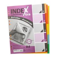 5 Tabs Plastic Index Divider A4 DX710