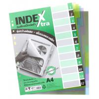 12 Tabs Plastic Index Divider A4 DX704