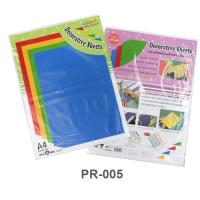 Decoration Plastic Sheets for Display Boards PR005