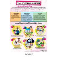 National Youth Day Educational Paper Posters EQ297