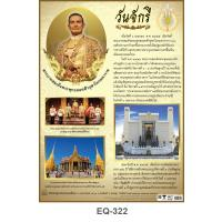Chakri Memorial Day Paper Posters EQ322