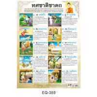 Ten Great Previous Birth Tales of the Buddha Paper Posters EQ385