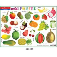 Fruits Vocabulary Educational Paper Posters EQ401