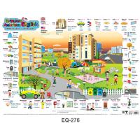 British VS American English Vocabulary Educational Paper Posters EQ276