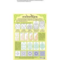Thai Ancient Basic Art Work Paper Posters EQ151