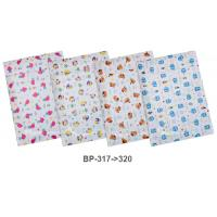 Vertical PP Pocket Envelope with Button A4 BP317-320