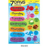 7 Days & Colours Paper Posters EQ423