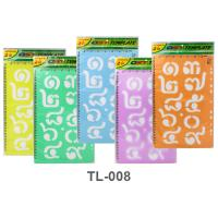 2 inches Thai Numbers Template TL008 Assorted Color