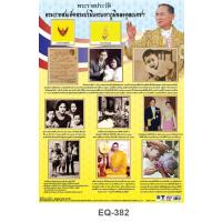 Biography of His Majesty King Bhumibol Adulyadej Paper Posters EQ382