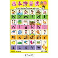 Mandarin Chinese Pinyin Alphabet Paper Posters EQ425