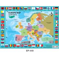 Europe Map Educational Posters EP449