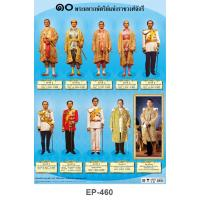 he Ten Kings of the Chakri Dynasty Plastic Posters EP460